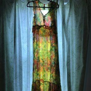 Tracy Reese Sungrove Maxi Dress